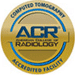 Accredited by American College of Radiology for Radiation Oncology